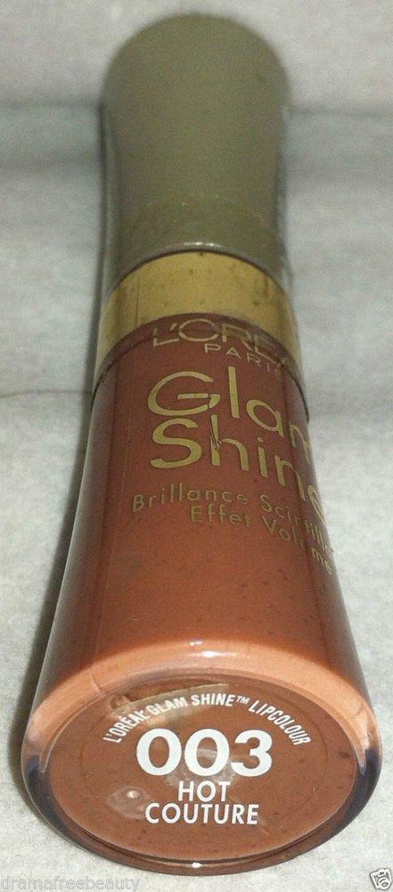 L'Oreal Lmtd Ed. Glam Shine Volumizing Nude Lipcolour Gloss *HOT COUTURE* Sealed