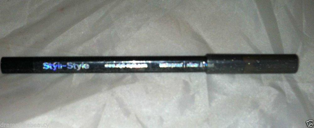 Styli-Style Glitter Lid liner Eyeliner Pencil * 901 BLACK* Waterproof Sealed BN