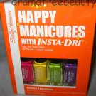 Sally Hansen Inta-Dri Nail Polish *HAPPY MANICURES* Set w/Fuchsia, Lime, Violet+