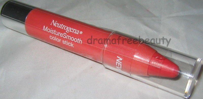 Neutrogena Moisture Smooth Twist Balm Color Stick in 20 *FRESH PAPAYA* BN Sealed