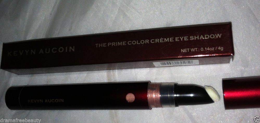 Kevyn Aucoin Prime Color Creme Eye Shadow DECEIT Warm Rosy Peach Bronze $27 BNIB