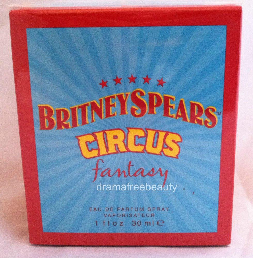Britney Spears *CIRCUS* Fantasy Eau De Parfum Perfume Spray 1 fl.oz. Sealed BNIB