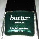 Butter London Nail Lacquer Polish *BRITISH RACING GREEN* Dark Emerald Shimmer BN