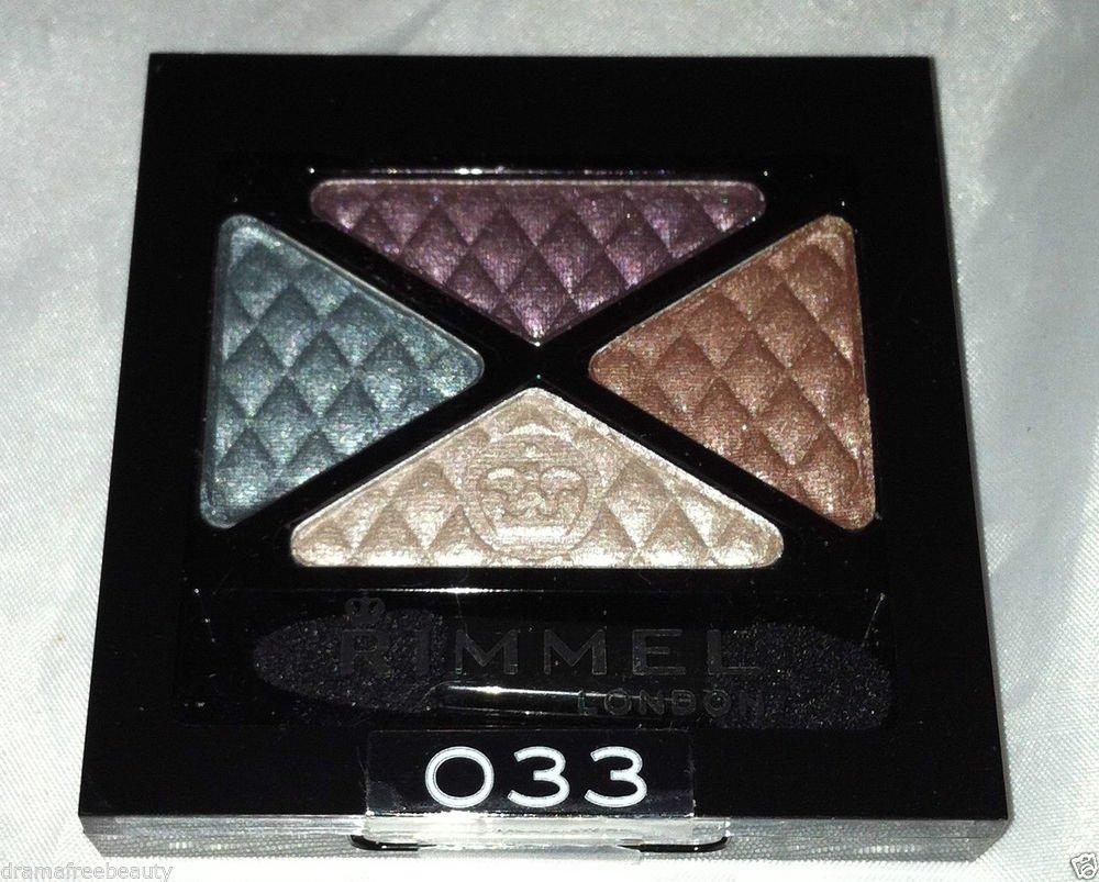 Rimmel London Glam ' Eyes Eye Shadow Quad * 033 Crown Jewels * Sealed Brand