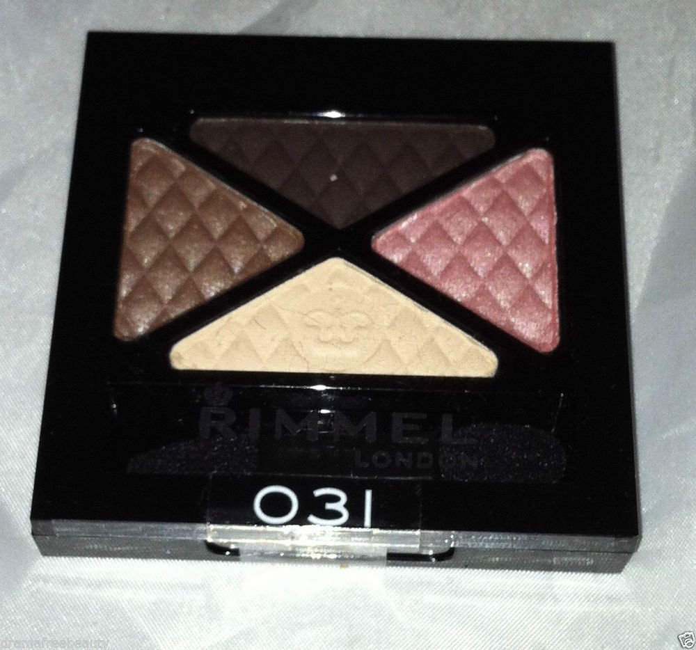 Rimmel London Glam ' Eyes Eye Shadow Quad * 031 MAYFAIR * Sealed Brand