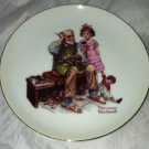Norman Rockwell Collector Plate * THE COBBLER* Limited Series Collector's Editio