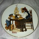 1982 Norman Rockwell Collector Plate * FOR A GOOD BOY* Limited Edition