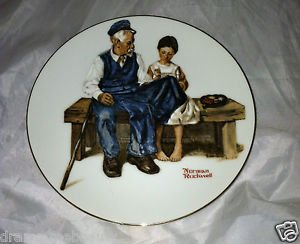 Norman Rockwell Collector Plate * THE LIGHTHOUSE KEEPER'S DAUGHTER* Limited Edit