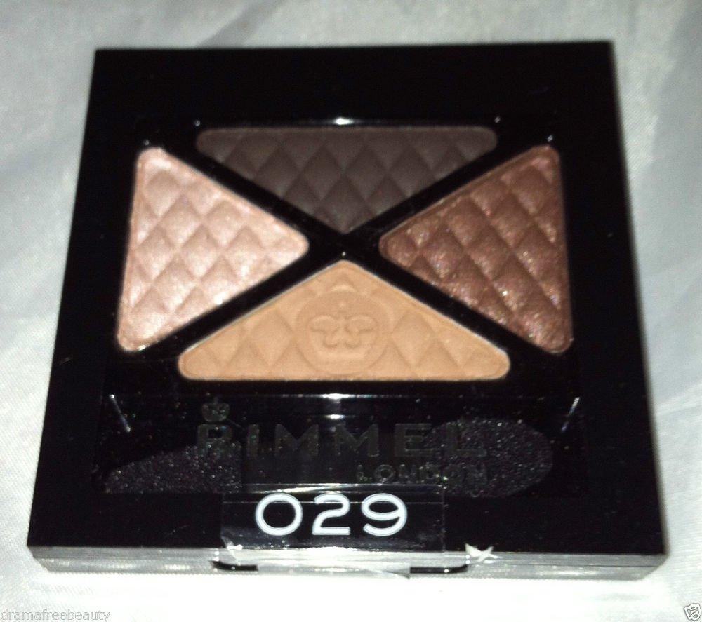 Rimmel London Glam ' Eyes Eye Shadow Quad * 029 AFTERNOON TEA * Sealed Brand