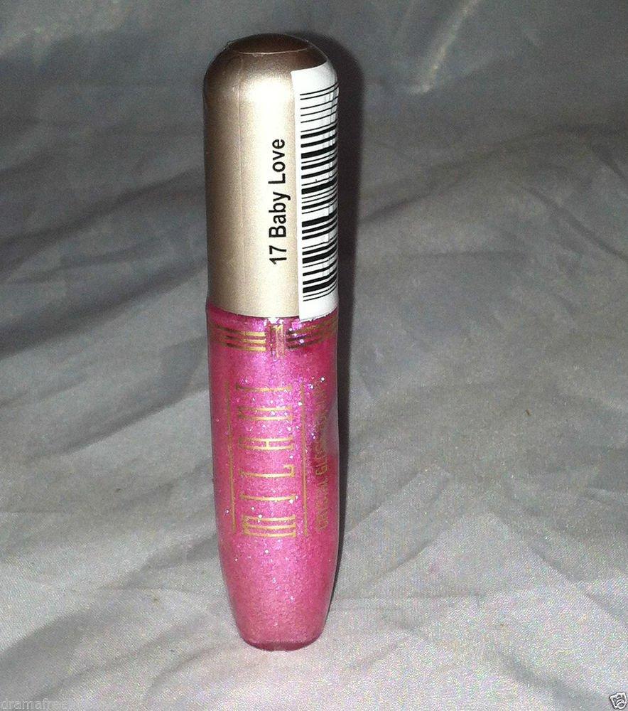 Milani Crystal Lip Gloss * 17 BABY LOVE * Sealed Brand New