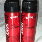 Big Sexy Hair 2pc Travel/Sample Set/Lot * GET LAYERED * Brand New