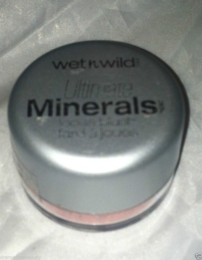 Wet n Wild Ultimate Minerals Loose Powder Blush * 164 PURELY MAUVE * Sealed New