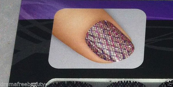 L'Oreal Project Runway Limited Edition Nail Stickers * WISE MYSTIC * New