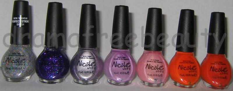 Nicole by OPI Nail Polish Limited Edition HTF Holo Upic