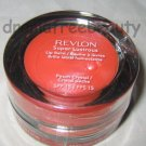 Revlon Super Lustrous Lip Balm Spf15 w/Brush *PEACH CRYSTAL* Sheer Juicy Shimmer