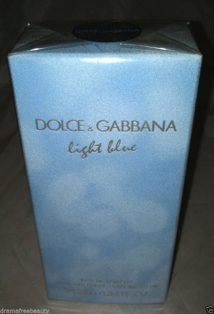 Dolce & Gabanna Eau De Toilette *LIGHT BLUE* 25ml/.84oz. Spray BN w/Box & Sealed