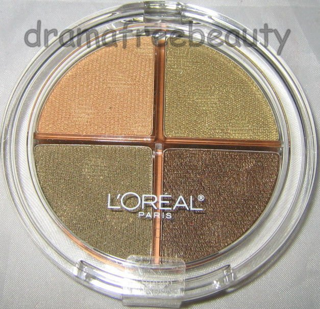 l'oreal Wear Infinite Limited Edition Eyeshadow Quad 841 *GOLDEN CANYON* Olives
