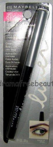 B.New Maybelline Master Drama Mechanical 24HR Cream Pencil #410 *MADE OF STEEL*