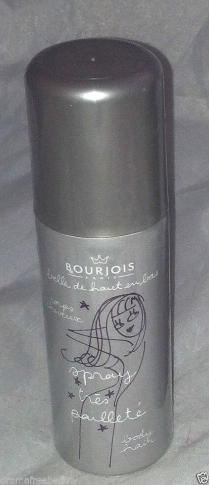 Bourjois Silver Shimmer Hair & Body Spray All-Over Sparkles *Brand New & Sealed*