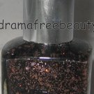 Pure Ice Limited Ed Nail Polish *PARDON MY FRENCH* Sh Black Rose/Gold Glitter BN
