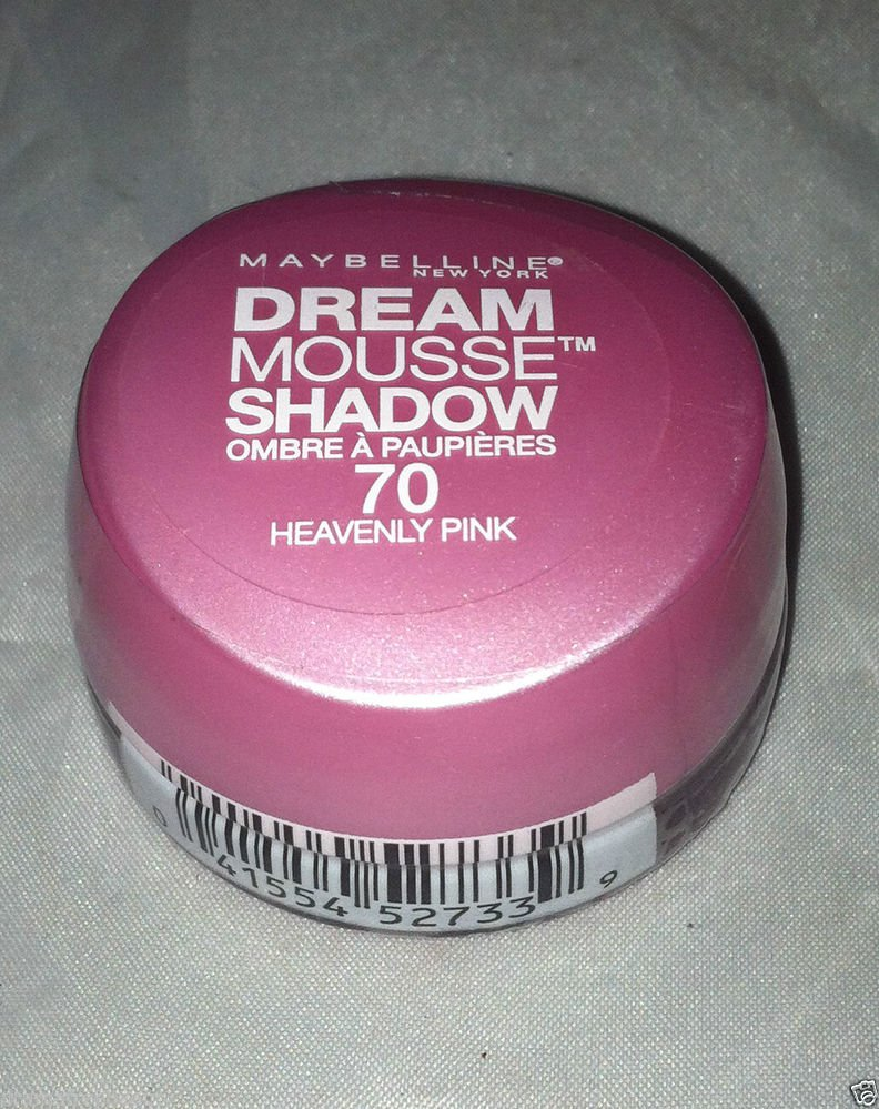 Maybelline Dream Mousse Eye Shadow * 70 HEAVENLY PINK * Brand New Sealed