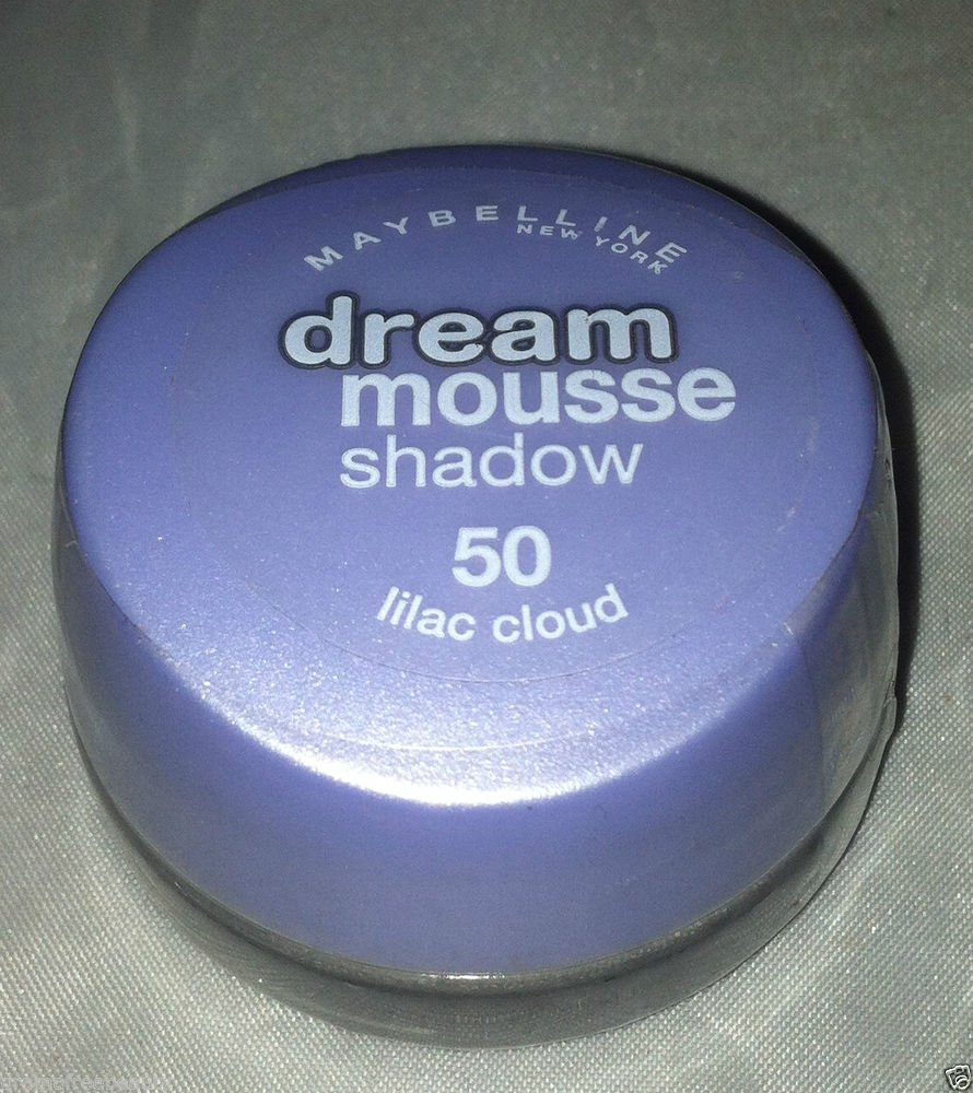 Maybelline Dream Mousse Eye Shadow * 50 LILAC CLOUD * Brand New Sealed