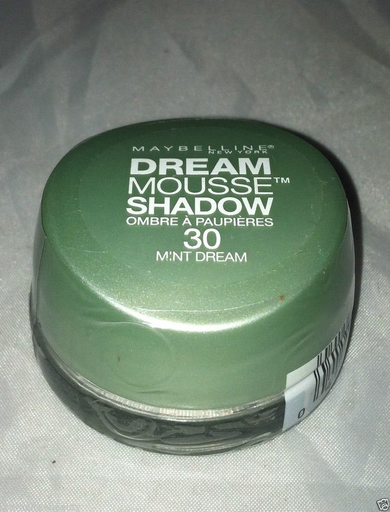 Maybelline Dream Mousse Eye Shadow * 30 MINT DREAM * Brand New Sealed