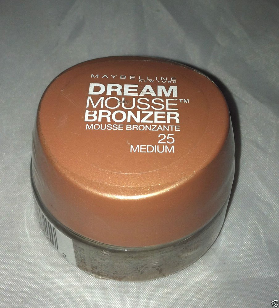 Maybelline Dream Mousse Bronzer * 25 MEDIUM  * Sealed Brand New!