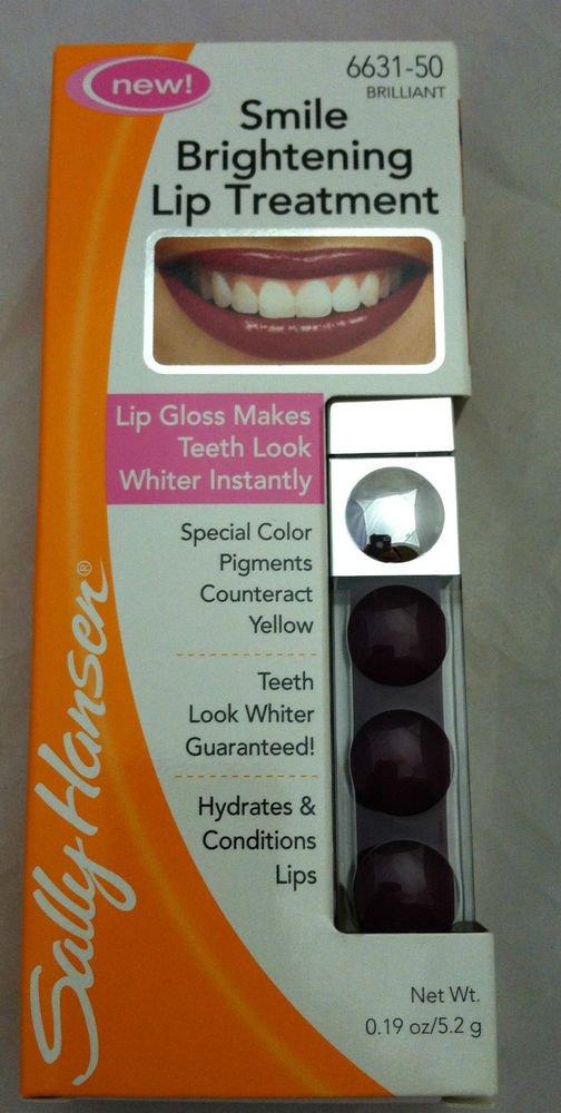 Sally Hansen Smile Brightening Lip Treatment 6631-50 Brilliant Lip Gloss Sealed