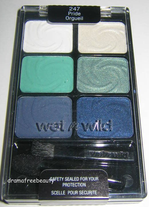 Wet N Wild Color Icon 6 Pan Eyeshadow Palette *247 PRIDE* Matte & Shimmer Sealed