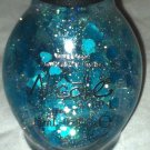 Nicole by opi Nail Polish * HONEY-DEW YOU LOVE ME? * Turquoise Hearts Glitter BN