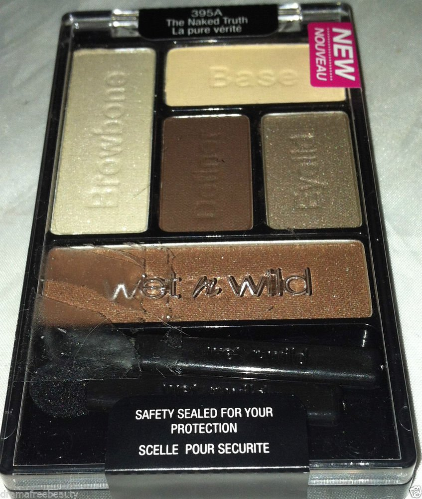 Wet n Wild Color Icon Eye Shadow Palette *THE NAKED TRUTH* Neutral Browns B. New