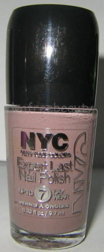 NYC New York Color Lmtd Ed. Expert Last Nail Polish *PERSISTENT PUTTY* Taupe BN