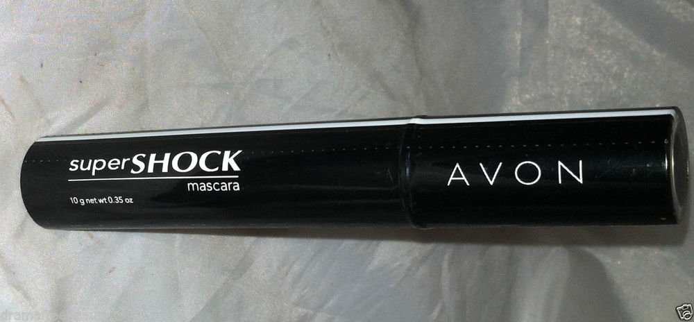Avon Super Shock Mascara * K01 BLACK * Sealed Brand New