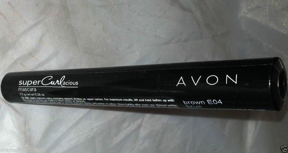 Avon Super Curlacious Mascara * E04 BROWN * Sealed Brand New HTF!