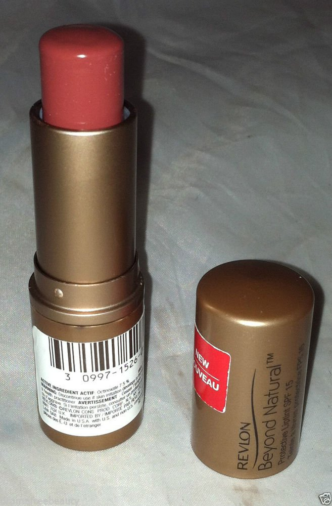 Revlon Beyond Natural Protective Lip Tint/Lipstick * 060 BERRY * Brand New