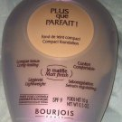 Bourjois Plus que Parfait Compact Matte SPF9 Foundation *43 ABRICOT* BNew Sealed