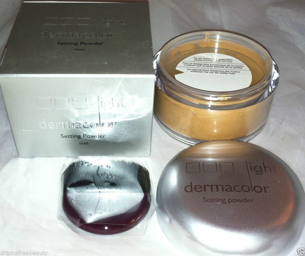 Kryolan Dermacolor Light Microfine Matt Fixing Setting Powder *M 4* New in Box