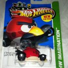 Red Angry Birds Hot Wheels Car Sealed Brand New * HW IMAGINATION * # 47