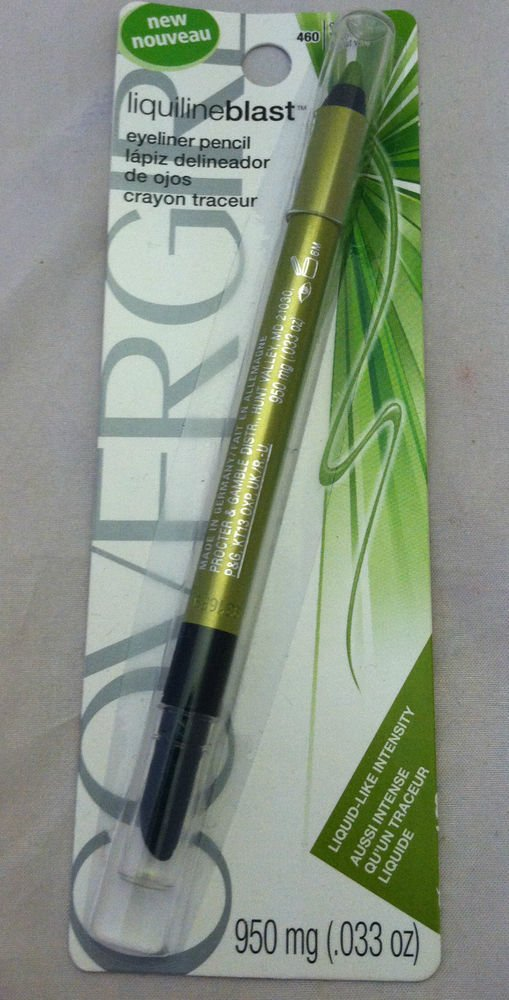 COVERGIRL Liquiline Blast Eyeliner Pencil 460 Green Glow Liquid-Like Intensity