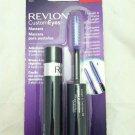 Revlon Custom Eyes Mascara 002 Black Adjustable Bristle Brush Length and Drama