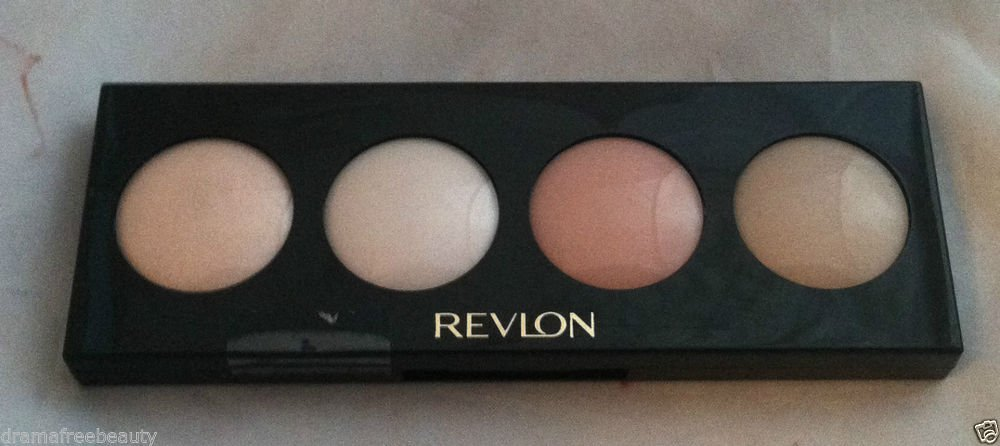 Revlon Illuminance Creme Eye Shadow Quad * 740 SEASHELLS * Attractive Neutrals