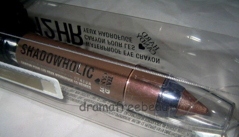 Hard Candy SHADOWHOLIC 12HR Waterproof Eyeshadow Crayon *CAMEL BACK* Taupe BNIB