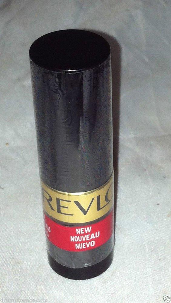 Revlon Super Lustrous Lipstick Creme * 654 RAVISH ME RED * Sealed New