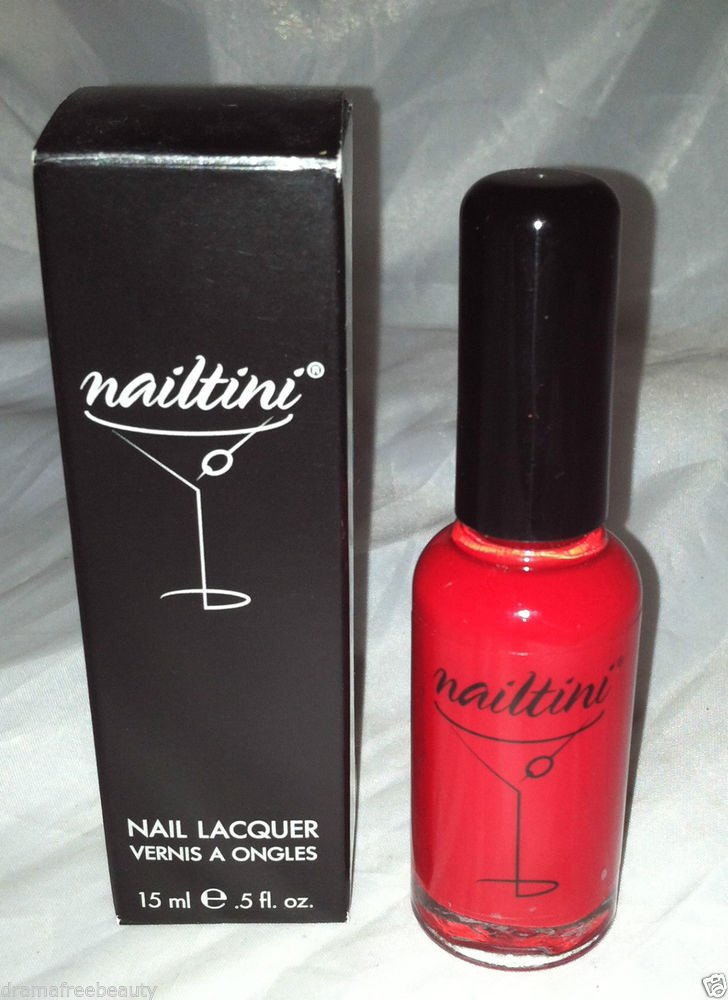 Nailtini Nail Polish * BLOODY MARY * Glossy True-Red Brand New
