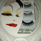 Disney Villains * CRUELLA DE VIL * Black Eye Lash Set 3 Designs w/Adhesive BNIB