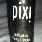 Pixi Nail Colour / Polish * 053 PRECIOUS PEWTER * Gray w/ Gold/Silver Micro