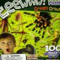 Creepy Crawlies/Crawlers Bugs Glow-in-the-Dark Puzzle !00pc Ages 5 and Up  BNIB