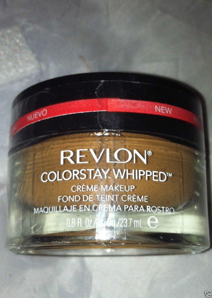 Revlon ColorStay Whipped Crème Makeup 24 Hour Foundation * 340 CARAMEL * New