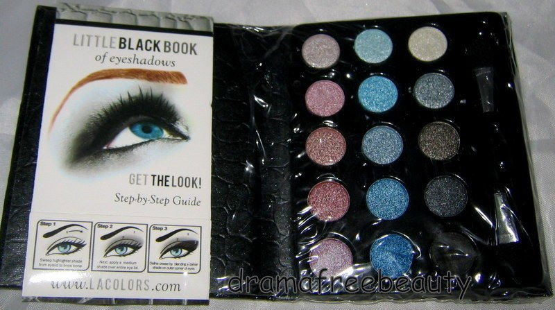 L.A. Colors LITTLE BLACK BOOK of 15 Eyeshadows *SMOKY Edition* Palette BN Sealed